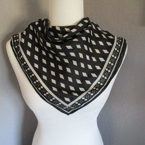 Vintage 1980's scarf